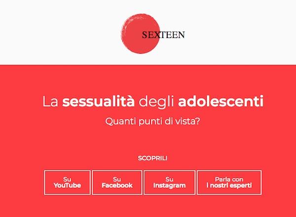 Ti Presentiamo Il Progetto SexTeen