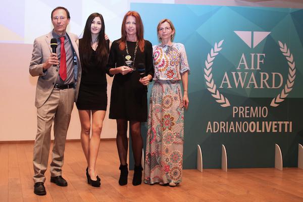 Il Sistema di Apprendimento InStudio è I° Classificato Alla IV Edizione del Premio AIF Adriano Olivetti